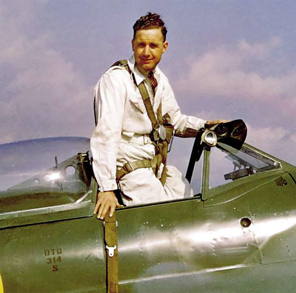 Alex Henshaw photographed in the cockpit of a Seafire 45 at Castle Bromwich in 1945. All archive photographs Alex Henshaw Collection, others François Prins unless noted